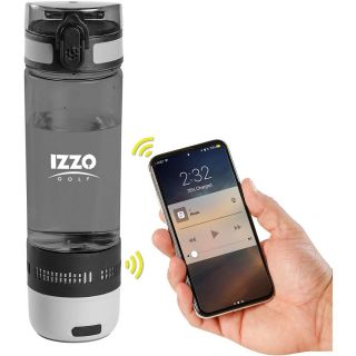 Izzo Golf Cycling 16oz Water Bottle with Bluetooth Speaker