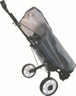 Golfers Club Clear Waterproof Golf Trolley Bag Rain Cover Cape