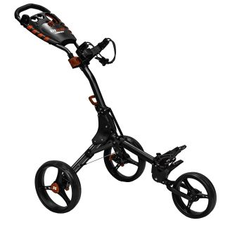 Easyglide Compact 3 Wheel Push Golf Trolley Black