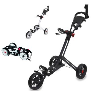 Easyglide Smart Fold 3 Wheel Push Golf Trolley
