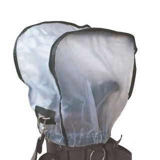 Golfers Club Universal Waterproof Golf Bag Hood Rain Cover