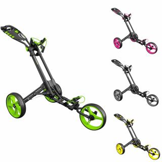 Golf Trolleys | iCart One 3 Wheel One Click Push Golf Trolley