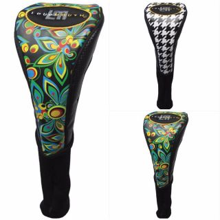 Winning Edge Loudmouth Golf Driver Headcovers with Sock Neck