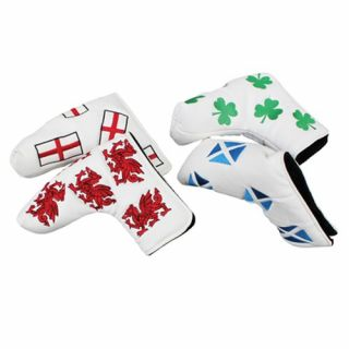 Headkase Flag Putter Headcover Wales
