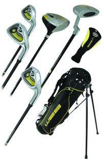Go Junior High Quality Childrens 7 Piece Golf Starter Kids Package Set Age 4-5