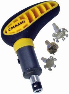 Champ Max Pro Golf Spike Cleat Wrench Removal Tool
