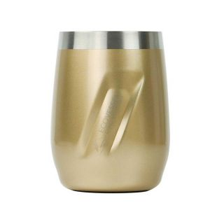 Ecovessel Port 296ml Hot Cold Drinks Wine Tumbler Gold Dust