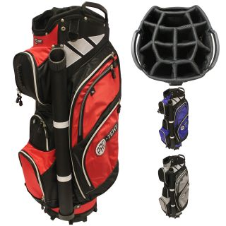 Pro-Text 9 Inch 14-Way Trolley Cart Golf Bag plus Putter Tube