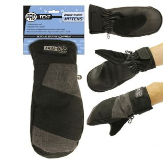 Pro-Tekt Deluxe Insulated Winter Mittens with Internal Fingers Small/Medium
