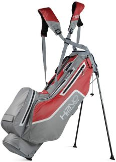 Sun Mountain H2NO Litespeed Stand Carry Golf Bag Cadet/Red/White