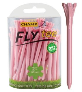 Champ Fly Tee Golf Tee 69 mm 2 3/4 Inch Pink