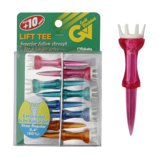 Lift Tee 2.4in Step Mixed Golf Tees