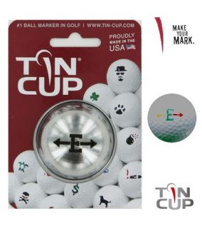 Tin Cup Ball Marking System - Alpha Players - E