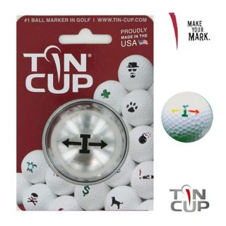 Tin Cup Ball Marking System - Alpha Players - I