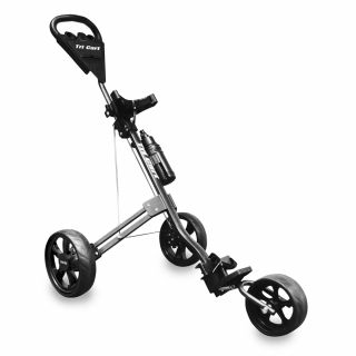 Longridge Tri Cart 3 Wheel Golf Trolley Trolley with Free Drinks Bottle