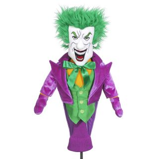 Creative Covers The Joker Golf Club Driver Novelty Headcover