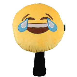 Winning Edge Emoji Faces Golf Driver Headcovers Tears of Laughter